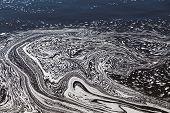 pic of swirly  - Water with Swirly Patterns in Ottawa River - JPG