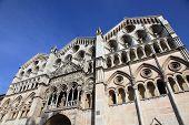 picture of ferrara  - Duomo of Ferrara - JPG