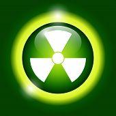stock photo of nuke  - radiation symbol - JPG
