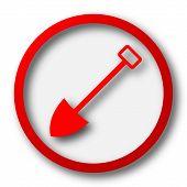 image of shovel  - Shovel icon - JPG