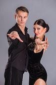 foto of ballroom dancing  - Ballroom dancing - JPG