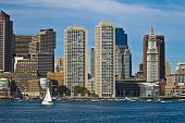 Boston Waterfront Skyline