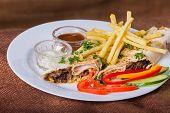 pic of shawarma  - Eastern food - JPG