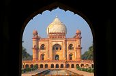 pic of mughal  - Tomb of Safdarjung seen from main gateway New Delhi India - JPG