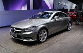 Mercedes Cls 350 At Paris Motor Show
