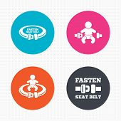 image of safety  - Circle buttons - JPG