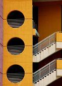 Bulding Stairs, Tampa, Florida poster