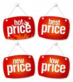 New best price signs set