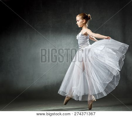 Ballet Image Of A Flexible