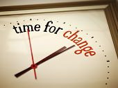 picture of count down  - An image of a nice clock with time for change - JPG