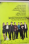 LOS ANGELES - OCT 30:  Seven Psychopaths Poster  at the