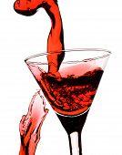 Постер, плакат: Красный Мартини