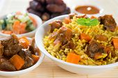 picture of lamb  - Arab rice - JPG