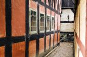 Alleyway Lane Historic House poster