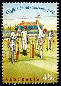 Postage Stamp Australia 1992 Bowler, Cricket Match, 1890S