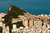 picture of ipanema  - Rio de Janeiro Ipanema and Copacabana districts aerial view from the mountain - JPG