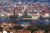 View Of Historical Center Of Prague poster