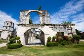 picture of cebu  - An old baroque church in the Oslob Philippines - JPG