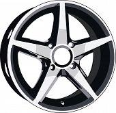 picture of titanium  - Wheel disk of sport car - JPG