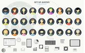 stock photo of headings  - People icons - JPG