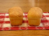 stock photo of home-made bread  - fresh home made bread without a bread machine - JPG