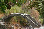 picture of armenia  - interesting bridge on area of Noravank monastery - JPG