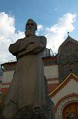 Tretyakov's monument poster