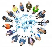 stock photo of morals  - Ethics Ideals Principles Morals Standards Concept - JPG