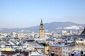 picture of linzer  - Cityscape of Linz from Linzer Schloss - JPG