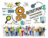 picture of recruiting  - Ethnicity People Recruitment Goal Cheerful Celebration Concept - JPG
