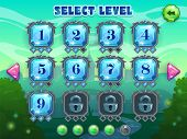 ������, ������: Level selection screen