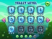Постер, плакат: Level selection screen
