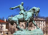 Постер, плакат: General Phil Sheridan Statue Sheridan Circle Embassy Row Washington Dc