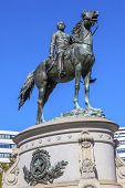 Постер, плакат: Major General George Henry Thomas Civil War Statue Thomas Circle Washington Dc