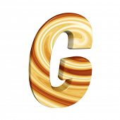 stock photo of g-spot  - abstract letter G - JPG