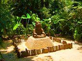 The Ancient Maya Monument Of A Meditating King Hints At Asian Roots poster
