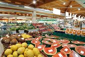 stock photo of supermarket  - supermarket - JPG