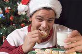 Eating Santa's Cookes poster