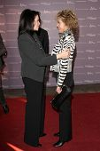 LOS ANGELES - DEC 7:  Sherry Lansing, Jane Fonda arrives at the