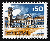 Postage stamp Portugal 1972 University, Coimbra