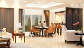 image of speculum  - Dining room - JPG