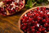 stock photo of middle eastern culture  - Loose pomegranate  - JPG
