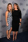 LOS ANGELES - JUL 24:  Sasha Alexander, Lorraine Bracco arrives at TNT's 25th Anniversary Party at t