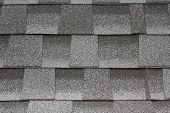 stock photo of shingles  - Close - JPG