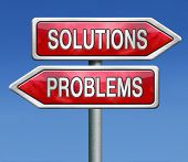foto of solution problem  - solution or problem solve the problems and find solutions - JPG