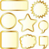Stickers-gold