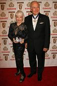 LOS ANGELES - NOVEMBER 2: Buzz Aldrin and wife Lois at the 2005 BAFTA/LA Cunard Britannia Awards at