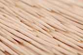 Toothpicks abstract composition