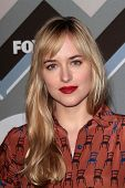 Dakota Johnson at the FOX Winter TCA All-Star Party 2013, Langham Huntington Hotel, Pasadena, CA 01-