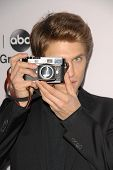 Keegan Allen at the Disney ABC Television Group 2013 TCA Winter Press Tour, Langham Huntington Hotel